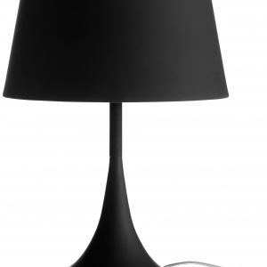 Lampa Mix wykonana z metalu i miękkiej powłoki. Dostępna również w kolorze białym i czerwonym. Wysokość 48 cm , średnica 35 cm. Cena 1.195 zł. Fot. BoConcept.