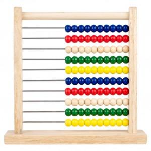 Kolorowe liczydło dla najmłodszych to tradycyjna pomoc przy nauce matematyki. Fot. TK Maxx.