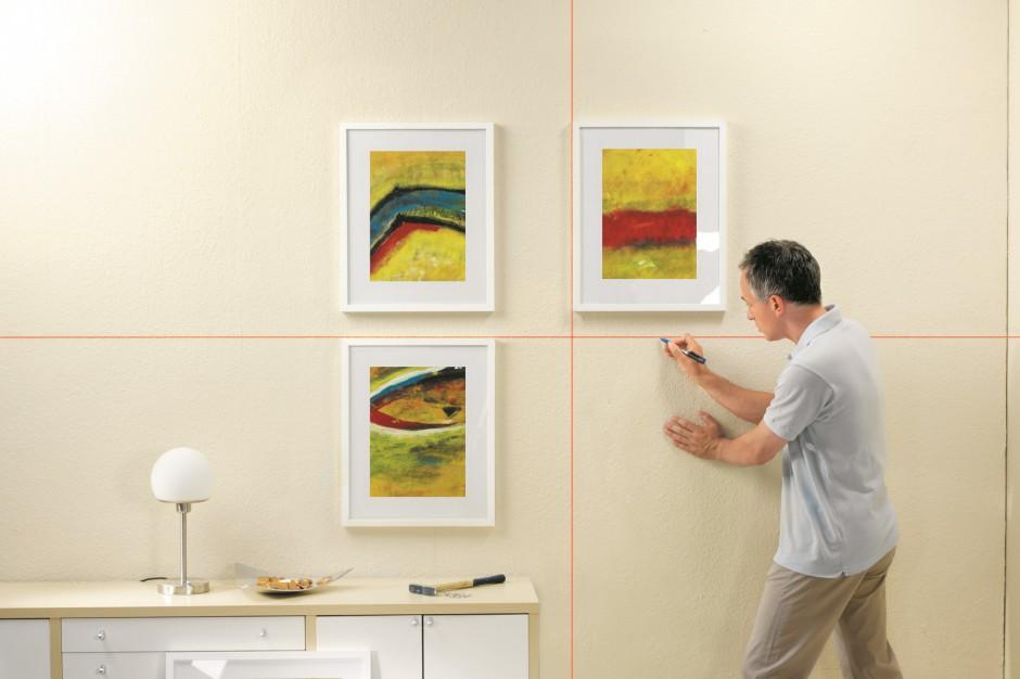 Ustalanie odległości między obrazami. Fot. Bosch.