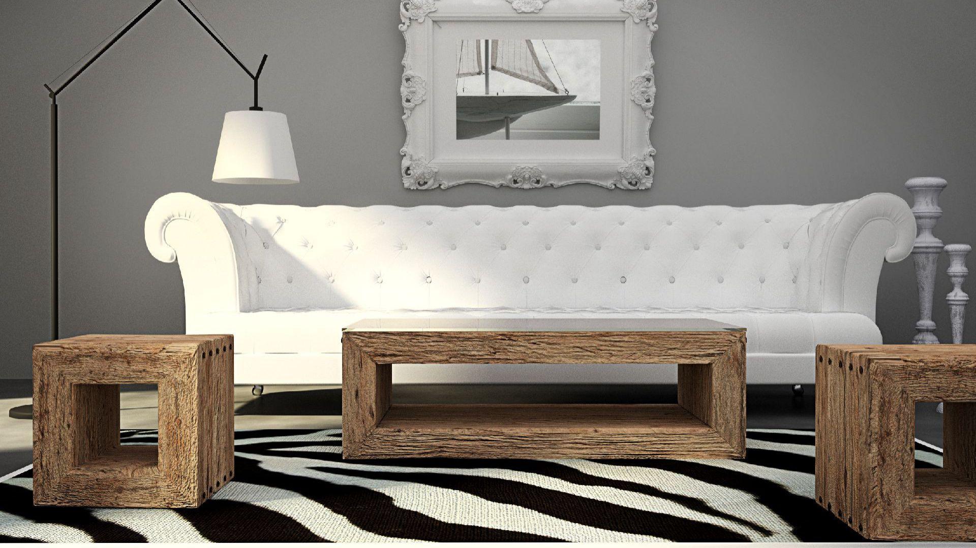 Komplet Trähus to kute łączenia, hartowane, bezbarwne szkło i unikatowe drewno, którego czas już minął odkryte na nowo i wprowadzone w najbardziej eleganckim stylu. Fot. SFD.