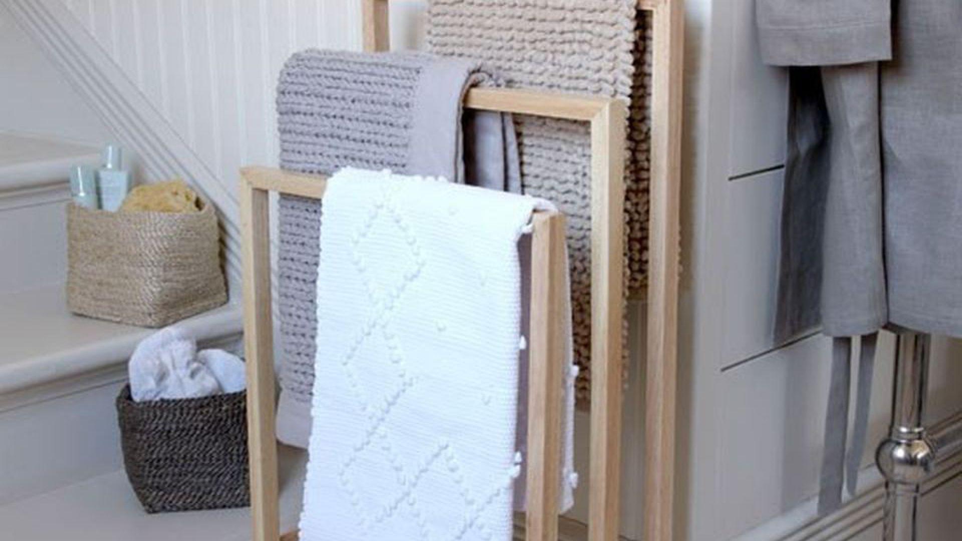 Ręcznik W łazience 16 Sposobów Na Przechowywanie