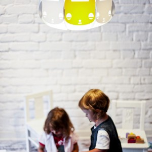 Lampa dziecięca Mischka. Fot. Kafti Design.