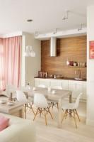 Apartament na Bielanach - kuchnia.