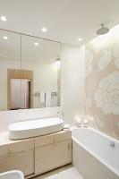 Apartament na Bielanach - łazienka.