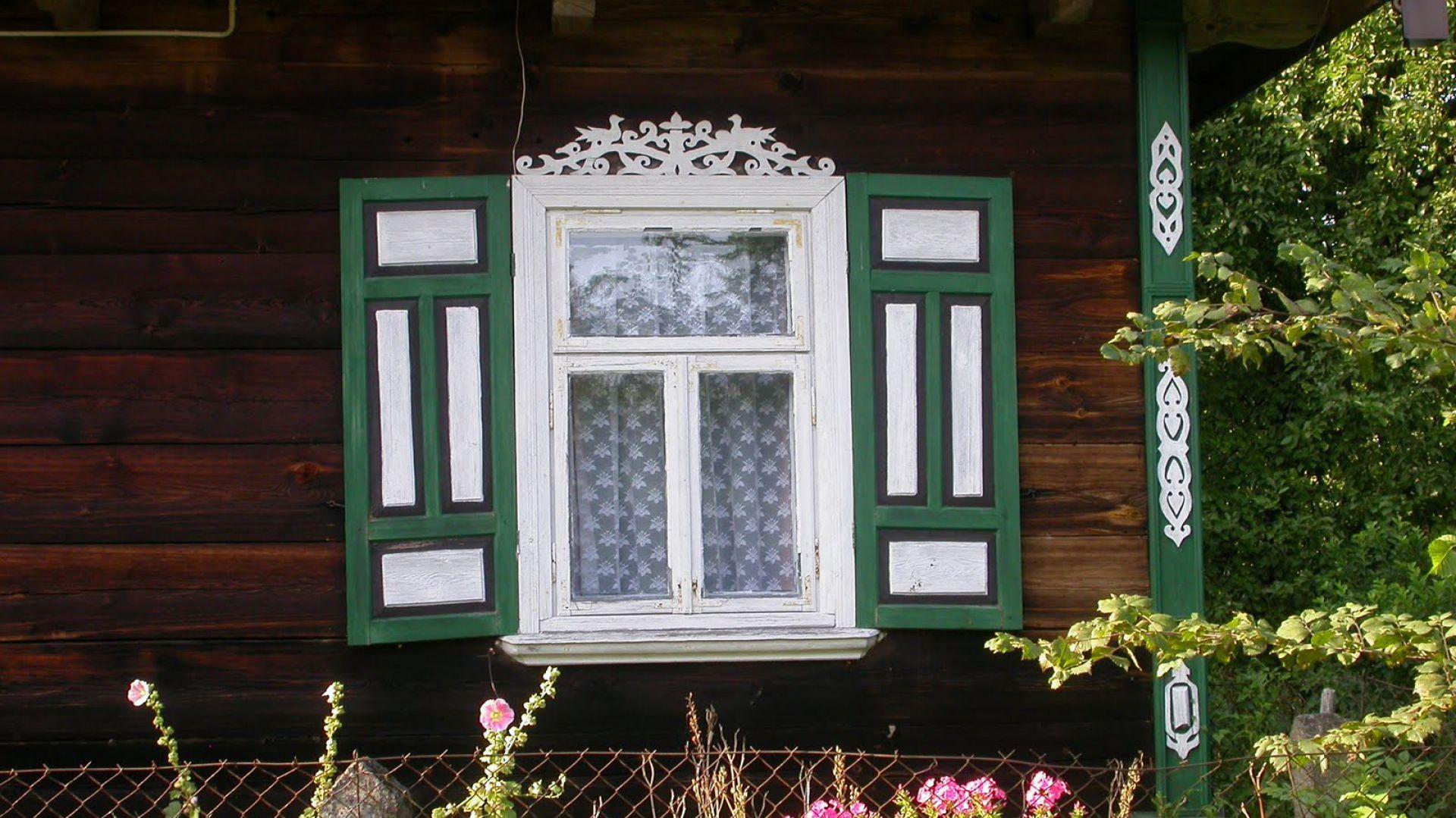 Zdobienie Domów Ornamenty Drewniane Na Podlasiu