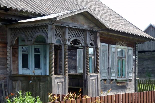 Zdobienie domów. Ornamenty drewniane na Podlasiu