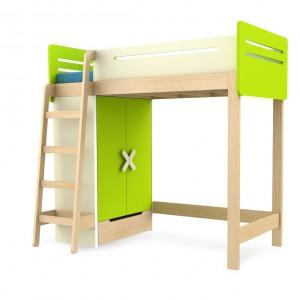 Łóżko na szafie, do którego wchodzi się po drabinie. Mebel idealny do zabawy. Cena: ok. 3.250 zł, sprzedaż: Timoore.