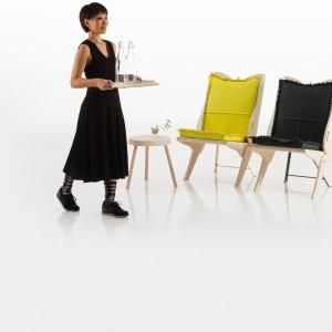 """""""Uskrzydlone"""" fotele Papillon - kolejna nowość z 2014 roku. Fot. Brühl."""