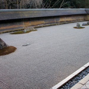 Kamienny ogród Ryoanji, Kyoto. Fot. Famous Wonders
