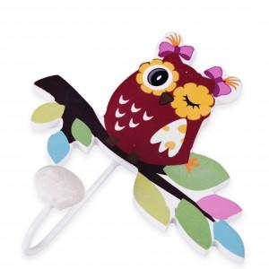 Wieszak Owlie z motywem zabawnej sówki. cena: ok. 15 zł. Sprzedaż: Home&You.