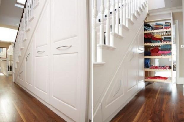 porady on line jak zagospodarowa schowek pod schodami. Black Bedroom Furniture Sets. Home Design Ideas