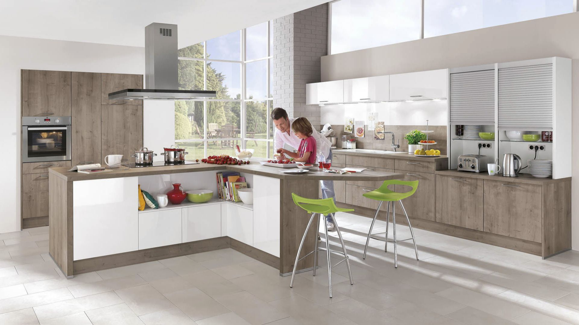 Kontrasty W Kuchni 10 Pomyslow Na Modne Meble
