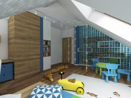 Pokój dla dziecka - dom w Ustanowie.