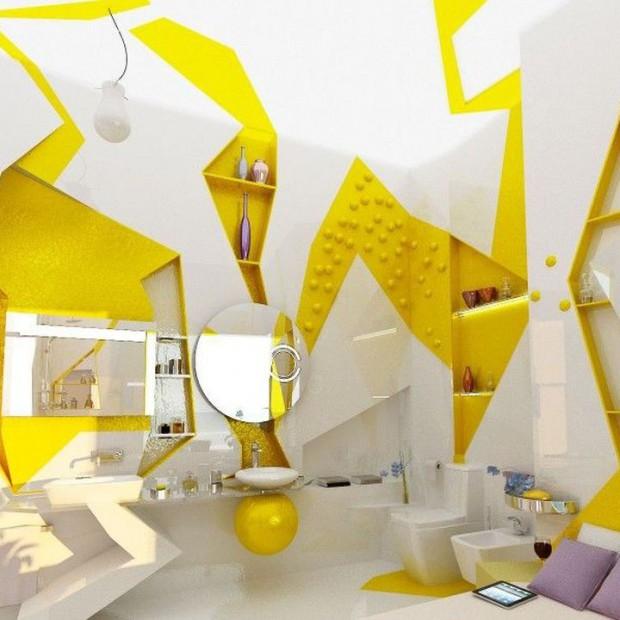 20 nowoczesnych łazienek. Moda na futurystyczne wnętrza