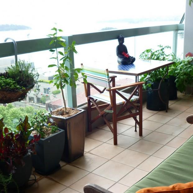 Ogród na balkonie. 12 sposobów na ekspozycję zieleni