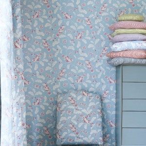 Kolekcja tapet i tkanin marki Jane Churchill.