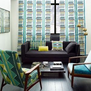 Kolekcja tkanin - nowość brytyjskiej marki Larsen.