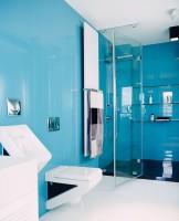Wnętrze jak z filmu science-fiction - łazienka.
