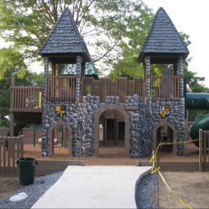 Zelly Playground w  Fullerton Park, Nowy Jork. Fot. familypennypincher
