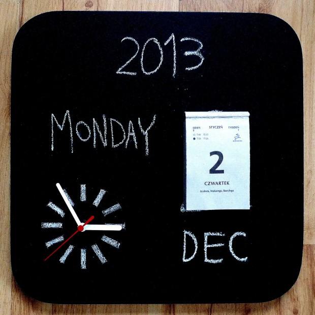 Nie trać czasu czyli kalendarze do domowego biura