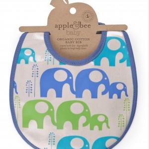 Śliniak dla niemowlaka. Fot. Apple&Bee.