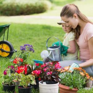 Pamiętaj by systematycznie dbać o ogród. Nawet najbardziej wymyśle gatunki nie dodadzą uroku zapomnianej przestrzeni. Fot  Wave Break Media/Shutterstock.