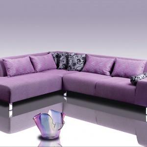 Fioletowy narożnik Mirage. Fot. Caya Design,