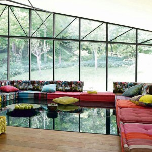 Modułowa sofa Mah Jong. Fot. Roche Bobois.
