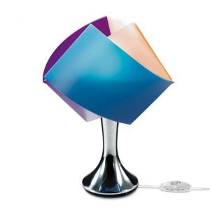 Lampa Gemmy dostępna w wielu kolorach, wykonana z innowacyjnego materiału Opalflex. Fot. Slamp.