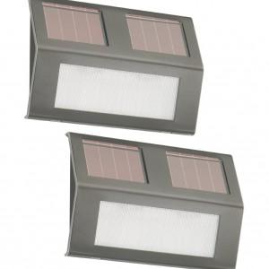 Lampy solarowe. Źródło Amazon.