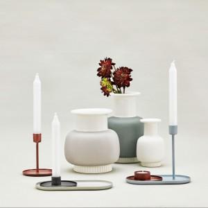Kolekcja dekoracji i dodatków na stół marki Normann Copenhagen z Danii. Fot. Normann Copehagen.