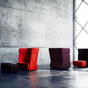 Fotele-kosze Basket w inspirujących nowych kolorach. Fot. Softline.