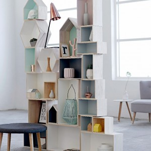 Nowa kolekcja wiosna 2014 duńskiej marki Bloomingville przynosi proste kształty i delikatne pastelowe kolory. Fot. Bloomingville.