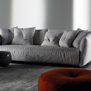 Sofa tapicerowana Scott. Fot. Meridiani.