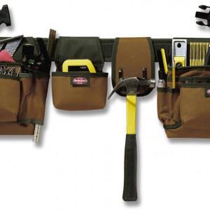 Pas z kieszeniami Bucket Boss, produkt dostępny na Amazon.