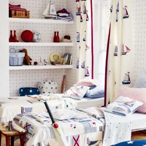 Kolekcja tkanin Nursery Tales. Fot. Jane Churchill.