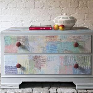 Komoda malowana farbami Chalk Paint od Annie Sloan. Fot. PatyNowy.