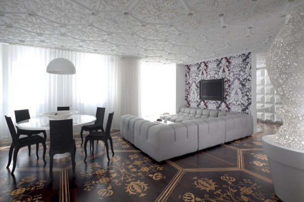 Marcel Wanders projektuje: koronkowe wnętrze