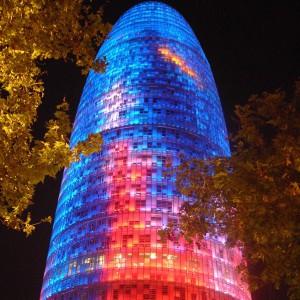 Torre Agbar, Hiszpania. Fot. Mostbeautifulpages