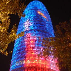 Torre Agbar, Hiszpania. Fot. Mostbeautifulpages