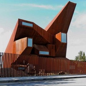 Spektakularna architektura kościoła, Madryt. Fot. Businessinsider