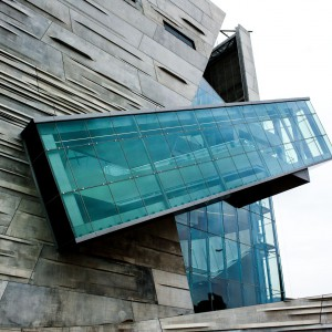 Perot, Muzeum Natury i Nauki, Dallas, USA. Proj.  Jane Tetley