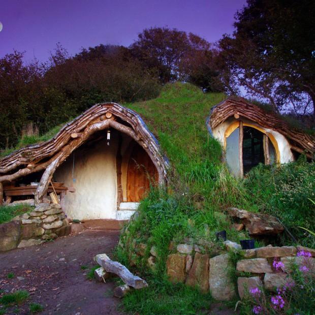 Domy dla prawdziwych fanów Hobbita. Mieszkać jak Bilbo Baggins?