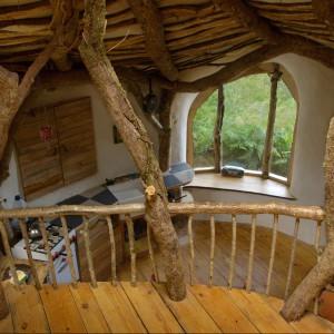 Widok z piętra. Fot. Beingsomewhere.