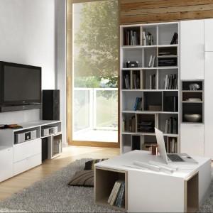 Kolekcja mebli do pokoju dziennego 4You - funkcjonalne meble projektu polskich designerów sprawdzą się w małej i dużej przestrzeni. Fot. Meble Vox.