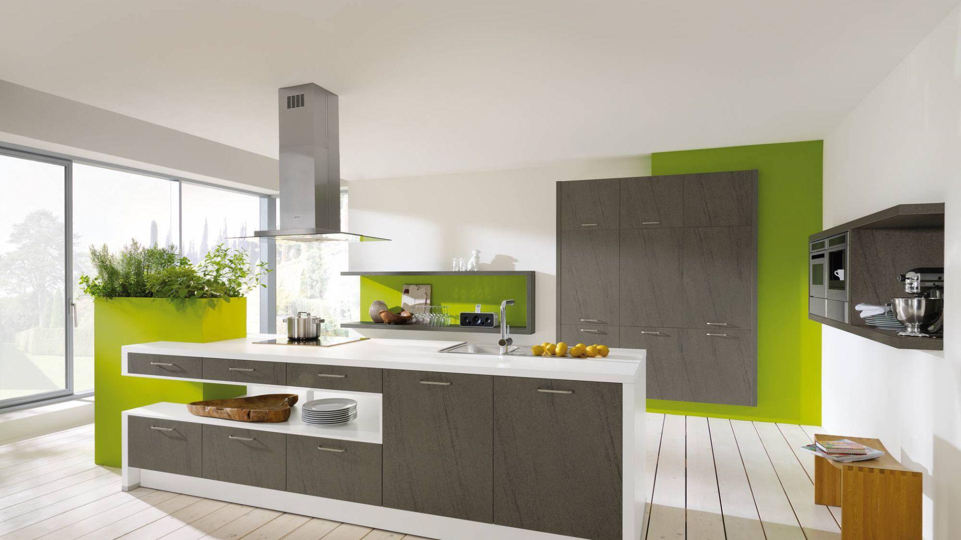 meble kuchenne z programu 15 pomys�243w na zielon�