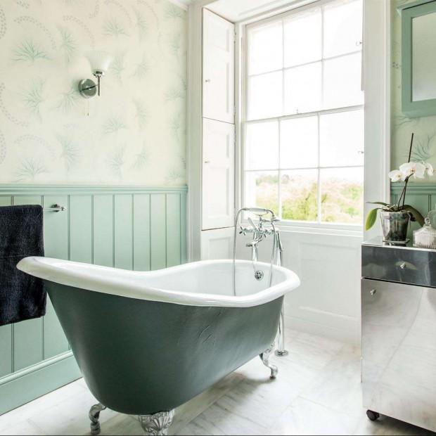 Łazienki w stylu Art Deco. W modnym klimacie retro