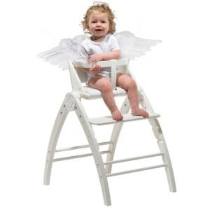 Angel 3w1: łużeczko, leżaczek i krzesełko.  Fot. coocoo.pl.