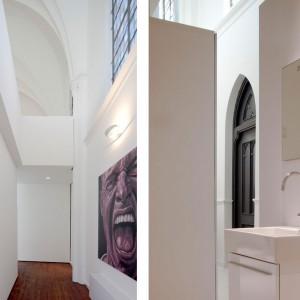 Minimalistyczna łazienka. Fot. Frank Hanswijk.