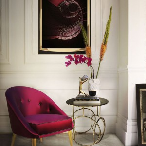 Bukiet kwiatów podkreśli elegancki charakter salonu. Fot. Koket.